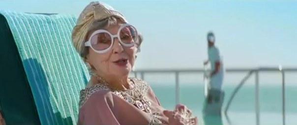 pool-grandma